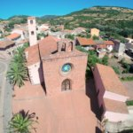 Àllai - Foto aerea Chiesa Parrocchiale